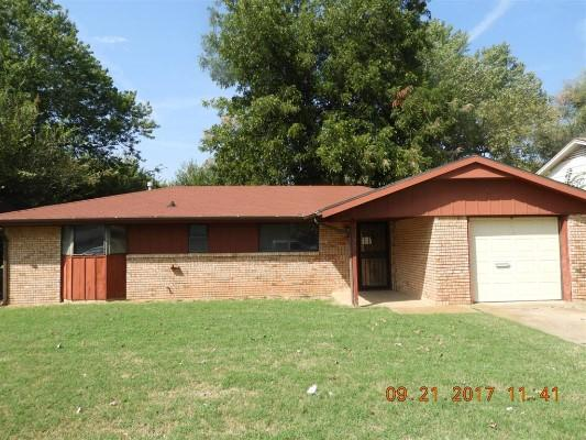 2105 Sandra Dr, Midwest City, Oklahoma